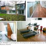 Berkeley Homes a prestigious development of unique homes in Petersham, Surry (Walnut planks)