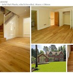 Factory special solid oak planks, oiled and bevelled