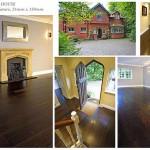Smoked oak nature wooden floor