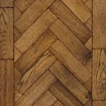 Medium Oak herringbone antique parquet block wooden flooring