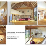 Grand Designs Surrey House Oak Rustic Planks over Underfloor Heating
