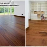189mm engineered walnut planks