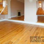 Faactory special oak engineered 120mm golden hardwax oil wooden floor