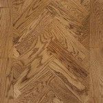English antique parquet block flooring