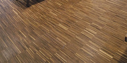 Case Study Industrial Parquet Flooring At The Hoxton Hotel Uk